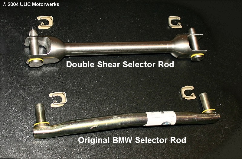 UUC XTS DSSR Double Shear Selector Rod for all BMW models